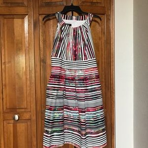 Colorful sundress with pockets
